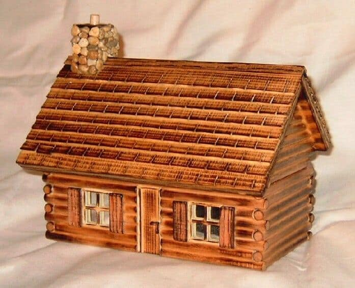Basic Log Cabin PRICE:$ ...